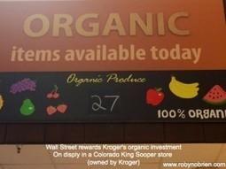Wall Street Rewards Kroger's Organic Moves | Inspired Bites | Scott Porter's Organic Food Digest | Scoop.it