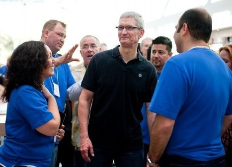 Tim Cook talks collaboration in email touting new products to employees | Open, Connect & Grow | Scoop.it