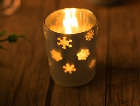 Top 10 Glass Christmas Candle Holders | AbsoluteChristmas | Scoop.it
