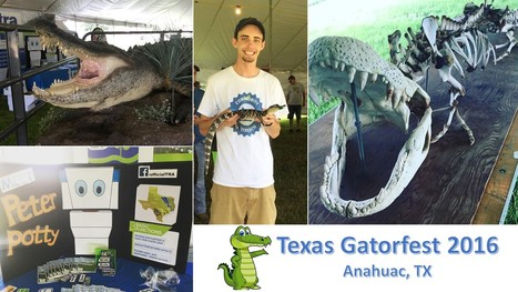 TRA attended Texas Gatorfest - Anahuac, TX | exTRA by the Trinity River Authority of Texas | Scoop.it