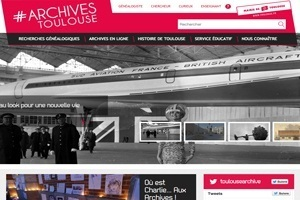 Toulouse : un nouveau site Web pour les archives | Archives municipales de Toulouse | Scoop.it