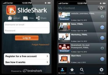 SlideShark now lets you view, share and project PowerPoint presentations from your iPhone | Digital Presentations in Education | Scoop.it