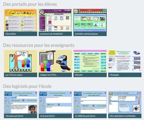 PragmaTICE : ressources pour intégrer les TICE à l'école | TICE, Web 2.0, logiciels libres | Scoop.it