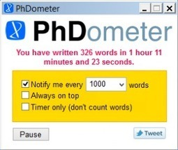 The PhDometer » PhD2Published | My Projects | Scoop.it