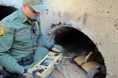 Tiny robots to prowl US-Mexico border's dark drug tunnels | Robots and Robotics | Scoop.it