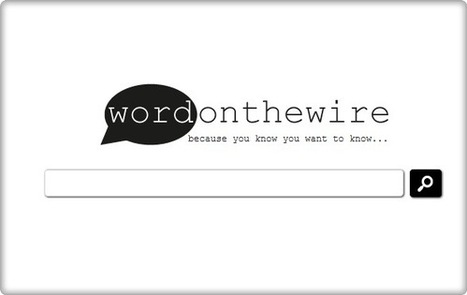 Wordonthewire: métamoteur de recherche qui exclue GOOGLE | poststrukturalismus | Scoop.it