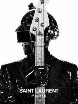 Saint Laurent Paris : Hedi Slimane relooke les Daft Punk | Daft Punk France Columbia | Scoop.it