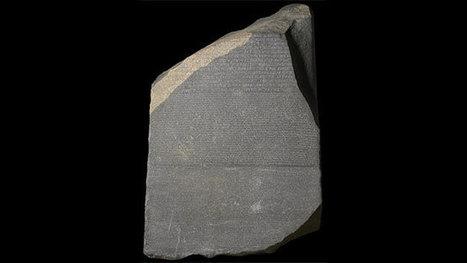 #063 ❘ Jean-François CHAMPOLLION et la pierre de Rosette | # HISTOIRE DES ARTS - UN JOUR, UNE OEUVRE - 2013 | Scoop.it