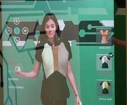 Con il camerino virtuale la shopping experience in realtà aumentata diventa social | Realtà Aumentata. | Scoop.it