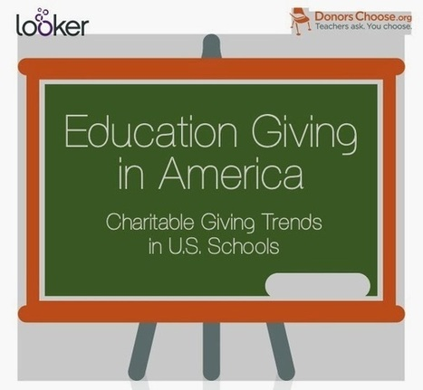PHILANTHROPY 2173: Opening up DonorsChoose Data | all types of giving | Scoop.it
