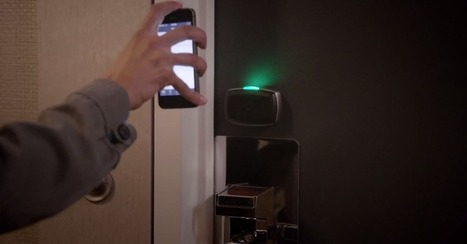Using Your Smartphone as Your Hotel Room Key | Life @ Work | Scoop.it