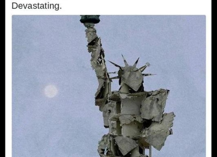 Un artiste syrien dénonce l'instrumentalisation de sa «Statue de la liberté» | Le Figaro | Kiosque du monde : Asie | Scoop.it