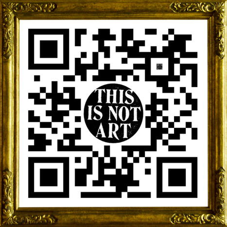 Scan These QR Codes to Generate GIF Galleries in Your Phone | Underwire | Wired.com | QR Code Art | Scoop.it
