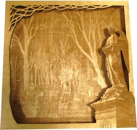 More Laser Cutter Artwork…. | Big and Open Data, FabLab, Internet of things | Scoop.it