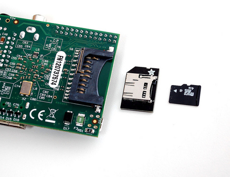 Low-profile microSD card adapter for Raspberry Pi | Raspberry Pi | Scoop.it
