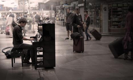 Jouer dans la gare Montparnasse | J'écris mon premier roman | Scoop.it