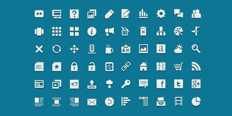 Icônes : 15 packs d'icônes minimalistes de qualité - icones-ressource | Photoshop Tutorials | Scoop.it