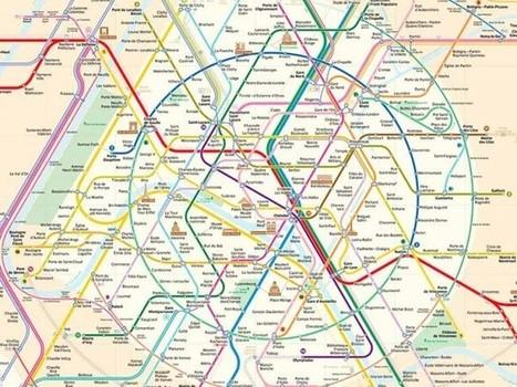 Cinq plans pour voir le métro autrement | Vivre Paris | Enseigner l'histoire géographie avec le numérique | Scoop.it