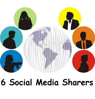 6 Different Types Of Social Media Sharers | marketing | Scoop.it