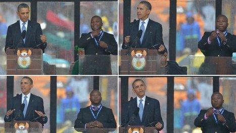 Interpreter at Mandela Service Said to Be an Imposter | Language news | Scoop.it