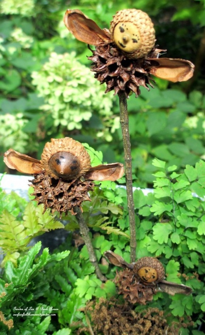 DIY Project : Making Fairies from Natural Materials | Kitsch | Scoop.it