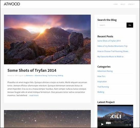 125+ Responsive Free WordPress Themes 2015 | Ultimate Tech-News | Scoop.it