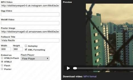 Cómo añadir un vídeo de Instagram en cualquier página web   Recull diari   Scoop.it