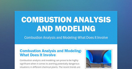 Combustion Analysis and Modeling   CAD Outsourcing Services   Scoop.it