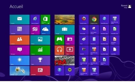 Windows 8.1 : le retour du bouton Démarrer pour Blue - LyonCapitale.fr | Timothée Petit | Scoop.it