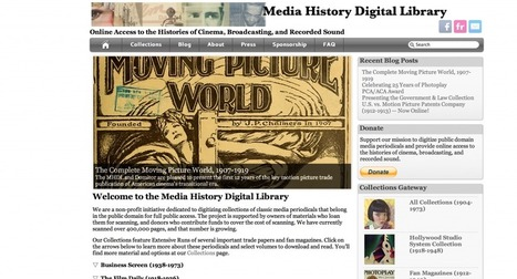 The Affordances of Digital Technology for Media History Research (Part One) | Transmedia Landscapes | Scoop.it