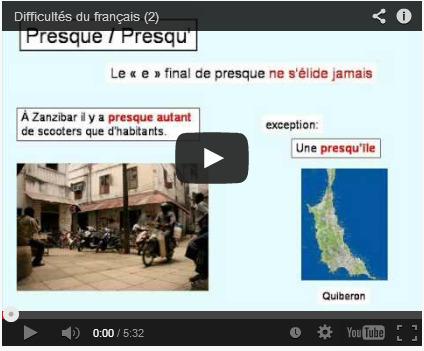 Difficultés du français (2) | FLE | Scoop.it