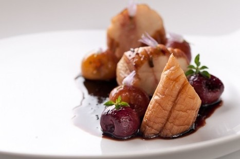 King Oyster Mushroom with Roasted Cherries and Sage | Vegetarianism | Scoop.it