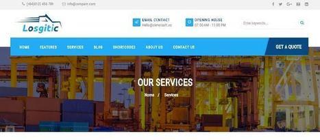 ZT Logistic Joomla Template for Freight & Transportation Industry | Premium Joomla Templates | Scoop.it