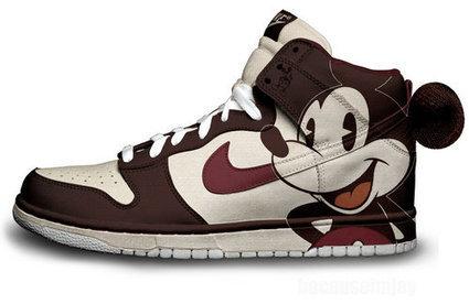 Nike Sb Dunk Mickey Mouse High Top New [disney-shoes-1007] - $81.00 : DC Comic Dunks ,Marvel Comic Dunks, Superhero Nike Dunks Shoes ,Superman ,Batman ,Spiderman,Captain America Nikes | Mickey Mouse Nike Dunks | Scoop.it
