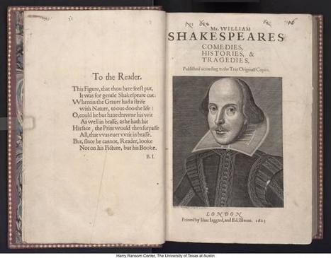 How to Explore Shakespeare's First Folio Online   Teacher-Librarianship   Scoop.it
