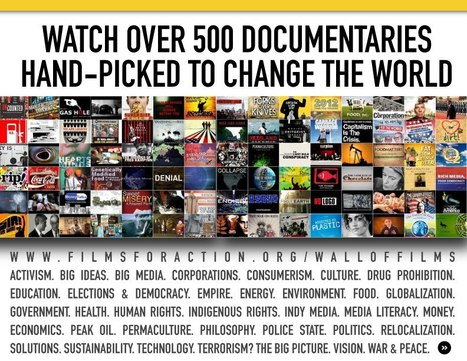 Wall of Films! | Over 500 Social Change Documentaries on 1 Page | Innovative Leadership in School Libraries | Scoop.it