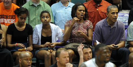 Obama Family Draws Cheers At Basketball Game In Hawaii | Basketball | Scoop.it