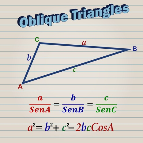 Trigonometry Tutorial Page Two | Mathematics learning | Scoop.it
