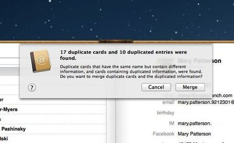 Mac tip: How to find and merge duplicate contacts | All Things Mac | Scoop.it