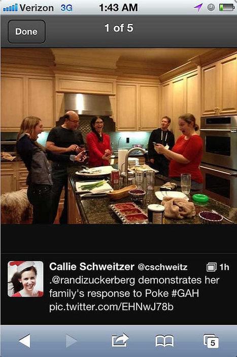 Noël chez les Zuckerberg, la photo volée qui régale Twitter | Dangers du Web | Scoop.it