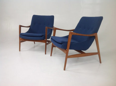 Modern mid century lounge chairs | whats been spotted on etsy today? | Scoop.it