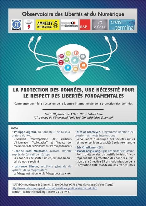 La journée mondiale de la protection des données célébrée un peu partout I Sébastien Gavois | Propriété Intellectuelle et Numérique | Scoop.it