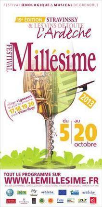 Twitter / zoepapillon: Le Millésime, festival ... | Oenotourisme | Scoop.it