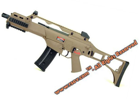ARES AS36C Tan AEG New Version | Popular Airsoft | Airsoft Showoffs | Scoop.it