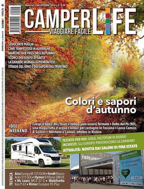 CAMPERLIFE Viaggiare Facile, le anticipazioni del numero di ottobre 2016 | Camper Life Magazine | Scoop.it
