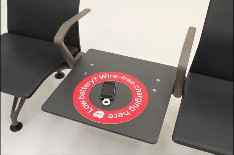 Airport seating charges your phone with PowerKiss | VentureBeat | Finland | Scoop.it