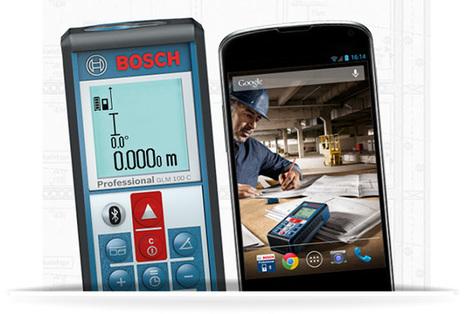 Télémètre GLM 100 C Bosch, connectez vous en Bluetooth ! - Blog-outilpro | Actu Outillage Pro | Scoop.it