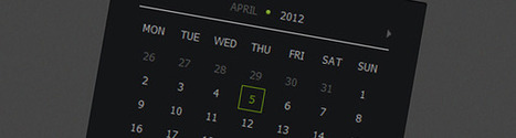 How to create Calendar using jQuery and CSS3 [Tutorial] | Poilocambio | Scoop.it