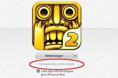 iTunes Store : vers une mise en avant des achats intégrés dans les applications gratuites   Geeks   Scoop.it