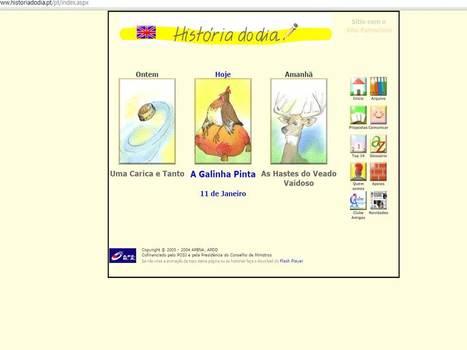 História do Dia   Sites com leituras para miúdos   Scoop.it
